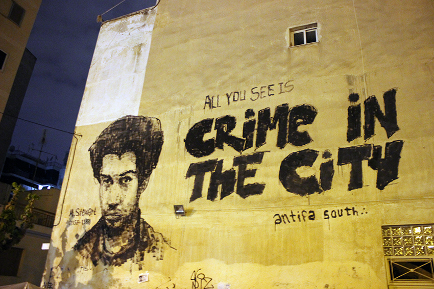 Michael Stewart Crrime in the city Antifa