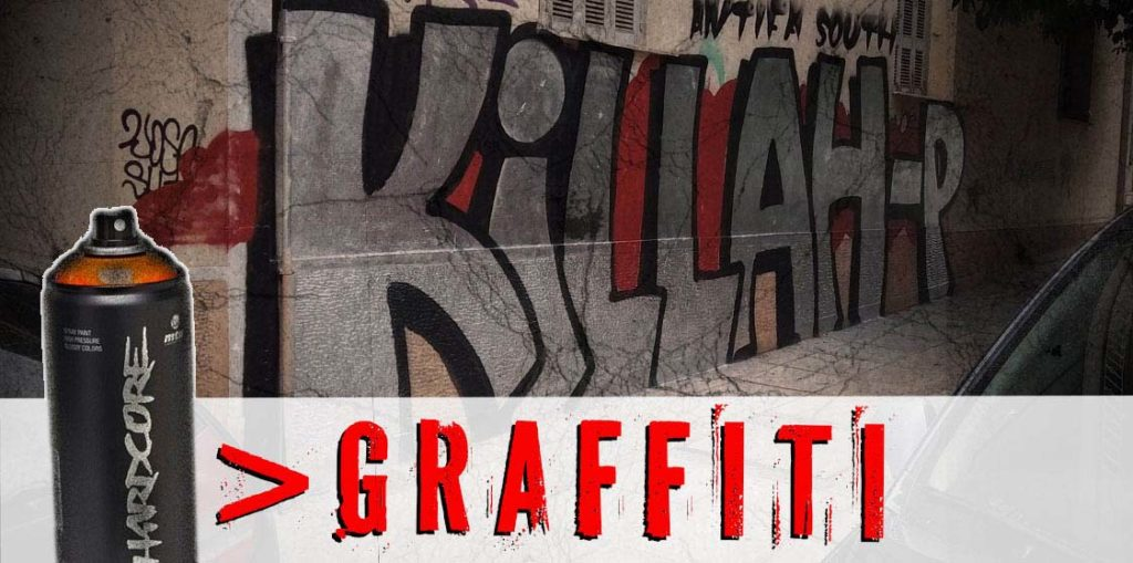 antifa sotuh graffiti