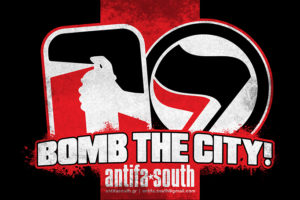 antifa aftokollita bomb the city
