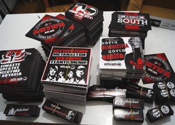 antifa south αυτοκόλλητα